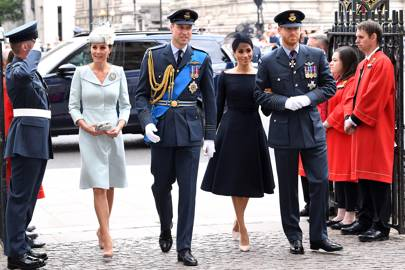 The Duchess of Cambridge, the Duke of Cambridge, the Duchess of Sussex and the Duke of Sussex