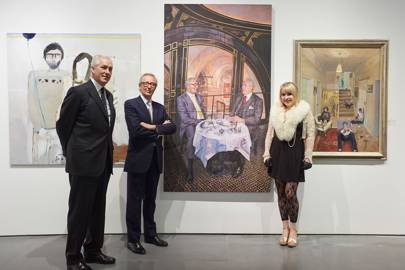 Jeremy King, Chris Corbin and Lorna May Wadsworth