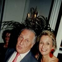 Frederick Forsyth and Mrs Frederick Forsyth