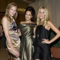Jade Parfitt, Kelly Brook and Donna Air