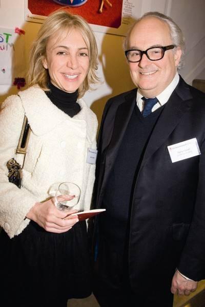 Sahar Hashemi and Gerry Farrell