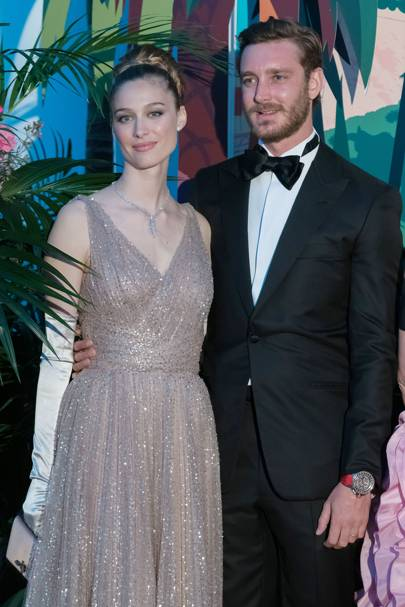 Countess Beatrice Borromeo and Pierre Casiraghi