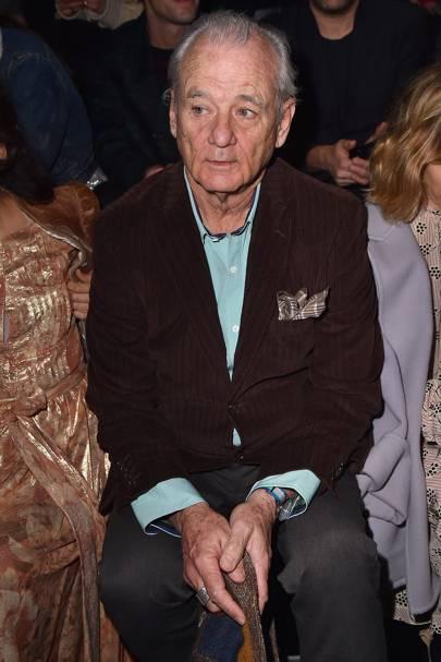 Bill Murray at Prada A/W18