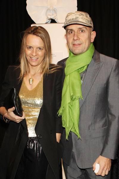 Georgia Byng and Marc Quinn