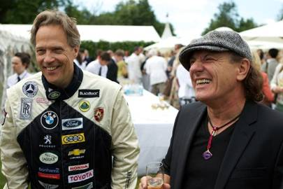 The Earl of March and Kinrara and Brian Johnson