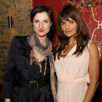Tina Debo and Helena Christensen