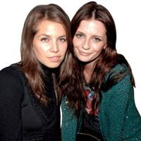 Dasha Zhukova and Mischa Barton