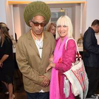 Don Letts and Virginia Bates