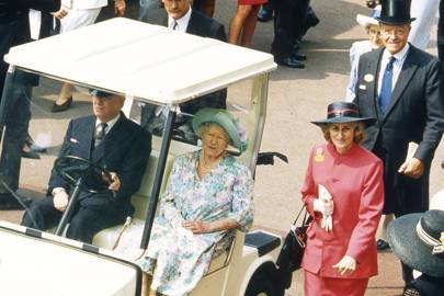 The Queen Mother, Lady Angela Oswald and Michael Oswald