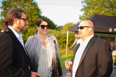 Sebastian Galbraith-Helps, Lizbet Holstein and Andy Lewis,