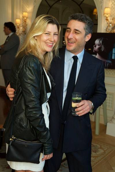 Sara Parker Bowles and Luca Del Bono