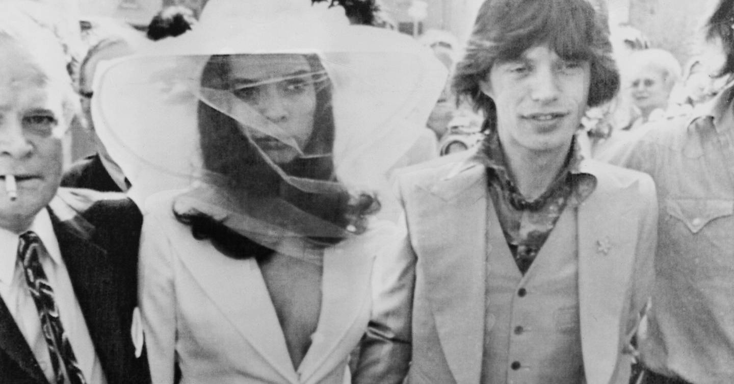 How Bianca Jagger's wedding suit paved the way for fashion-forward brides