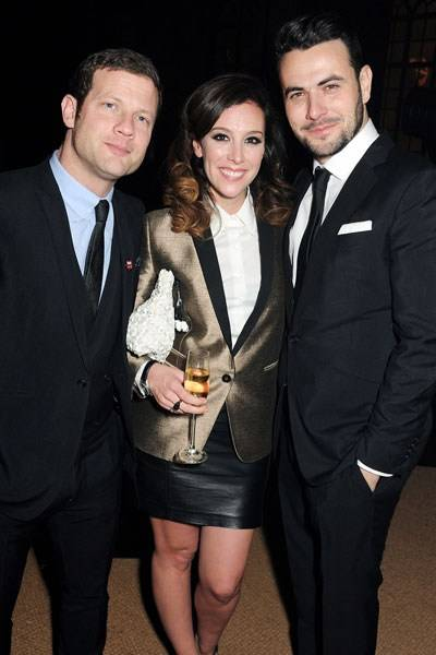 Dermot O'Leary, Dee Koppang and Ben Winston