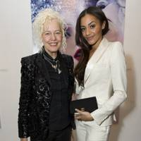 Ellen von Unwerth and Amal Fashanu