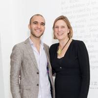 Simon Sakhai and Joanna Hardy