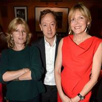 Rachel Johnson, Geordie Greig and the Countess of Woolton