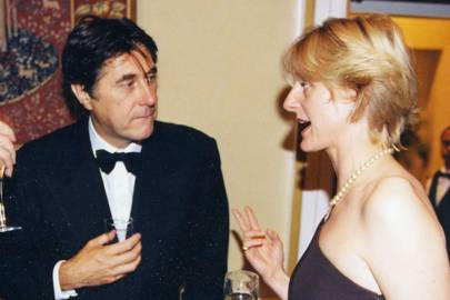Bryan Ferry and Mrs Bruce Bossom