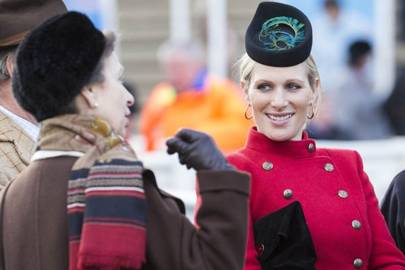 Princess Royal and Zara Phillips