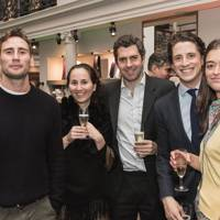 Edward Holcroft, Henrietta Janson, Chris Janson, Nick Campbell and Gemma Standeven
