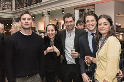 Edward Holcroft, Henrietta Janson, Chris Janson, Nick Campbell and Gemma Standeven