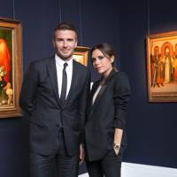 David Beckham and Victoria Beckham