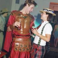 Jonathan Scott-Webb and Lisa Redfern