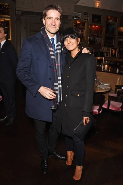 Kris Thykier and Claudia Winkleman