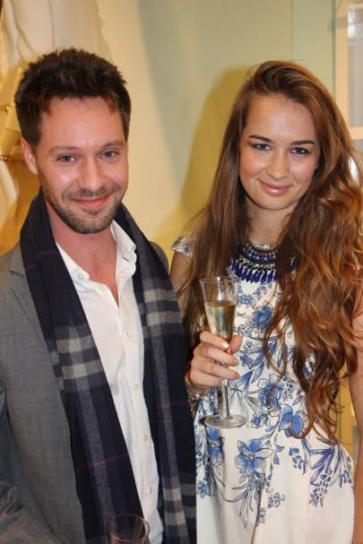 James Burbridge and Amelia Leventhorpe