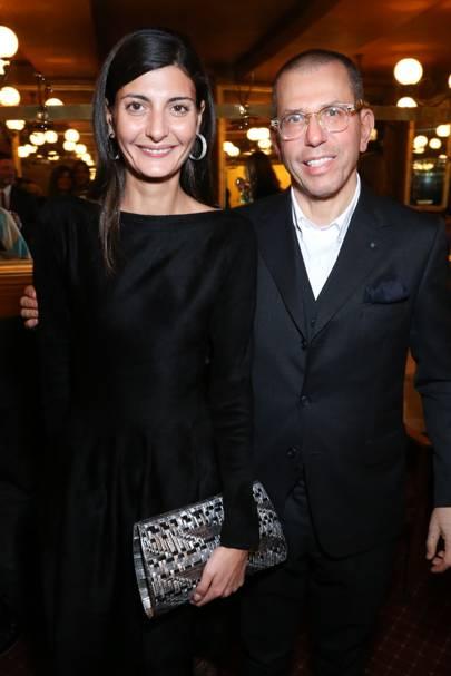 Giovanna Battaglia and Jonathan Newhouse