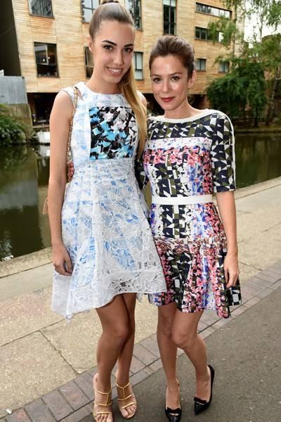 Amber Le Bon and Anna Friel