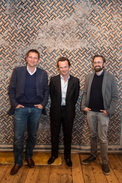 Michael Scott, Luke Irwin and David Roberts