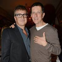 Jay Jopling and Antony Gormley