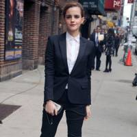 Emma Watson in Saint Laurent