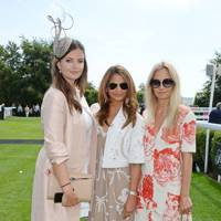 Lady Natasha Rufus Isaacs, Katy Wickremesinghe and Martha Ward