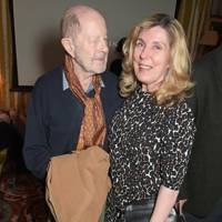 Nicolas Roeg and Harriet Harper