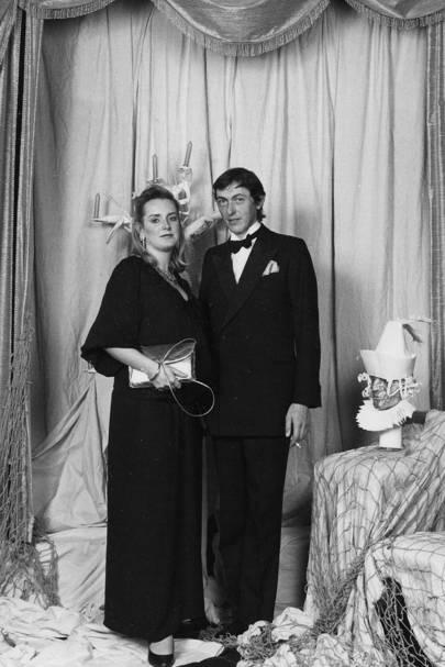 The Hon Adam and Mrs Macmillan