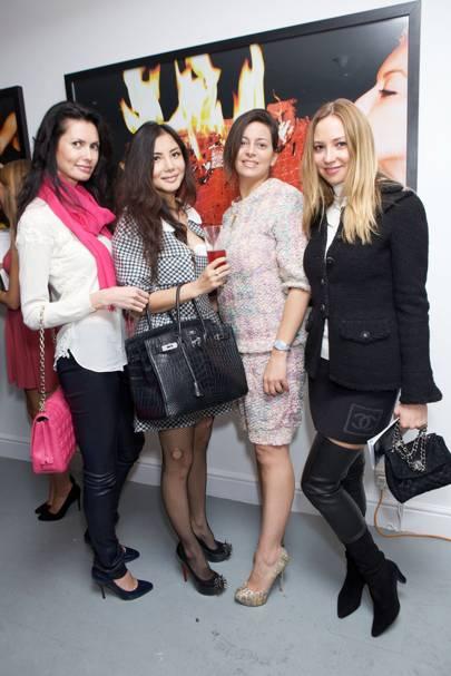 Elaine Zhang, Nataliya Resh, Nivin El Gamal and Olga Bagrova