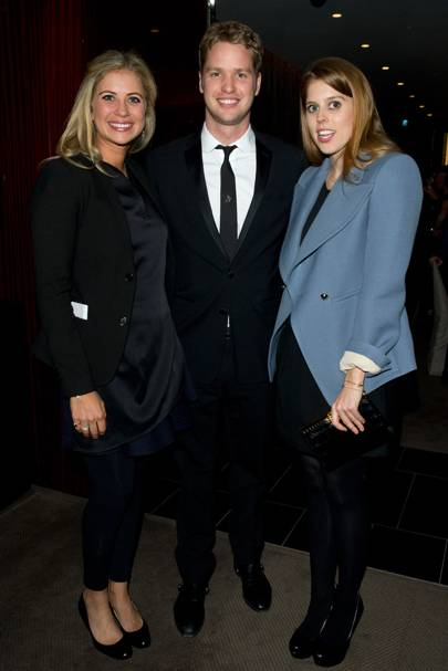 Holly Branson, Sam Branson and Princess Beatrice