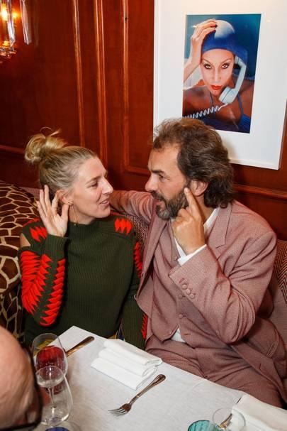 Melinda Stevens and Cyril de Commarque