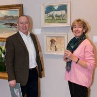 Peter Hiscocks and Linda Allan
