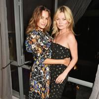 Yasmin Le Bon and Kate Moss
