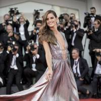 Izabel Goulart at the opening ceremony