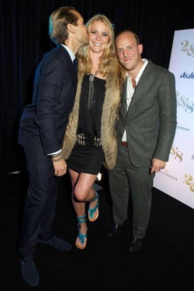 Jake Parkinson-Smith, Jodie Kidd and Carlo Carello
