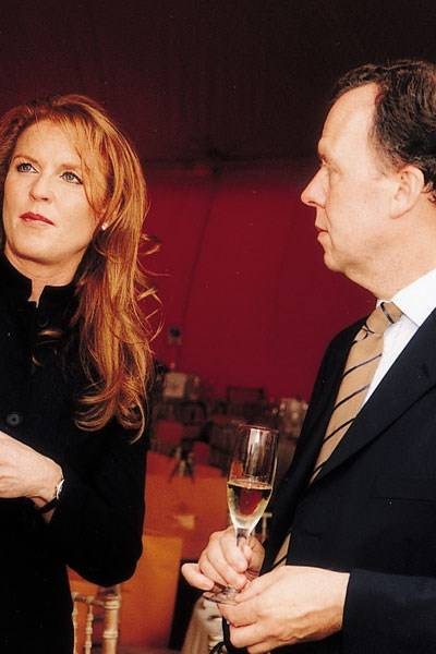 Sarah Ferguson and John West