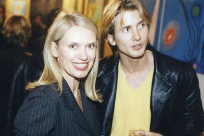 Anneka Rice and George Lewis