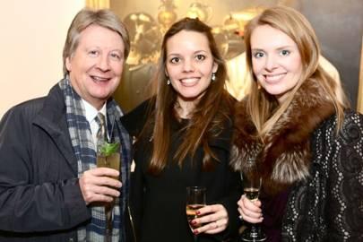 Fenton Higgins, Karolina Walewska and Caroline de Peyrecave