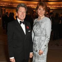 John Warren and Lady Carolyn Warren