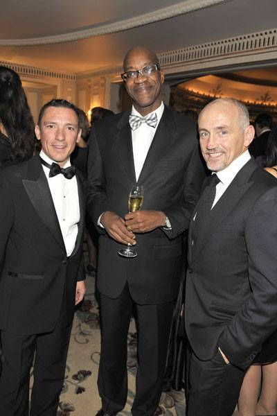 Frankie Dettori, Edwin Moses and Barry McGuigan