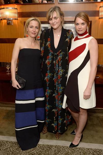 Gillian Anderson, Sophie Dahl and Ruth Wilson