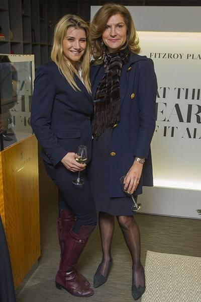 Martine Bridge and Xenia Howard-Johnston